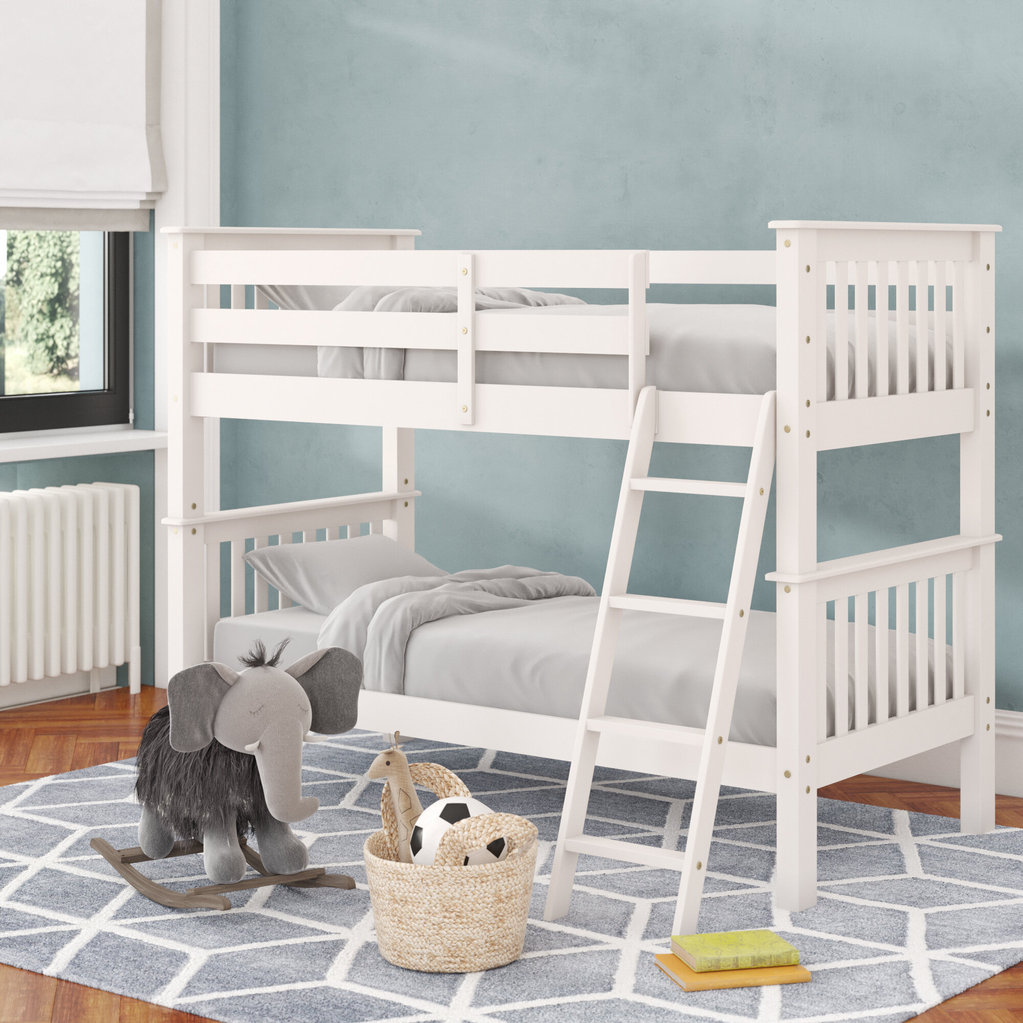 Picture of: Just Kids Oxford Single Bunk Bed Reviews Wayfair Co Uk