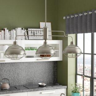 Trent Austin Design Dunson 3-Light Kitchen Island Pendant