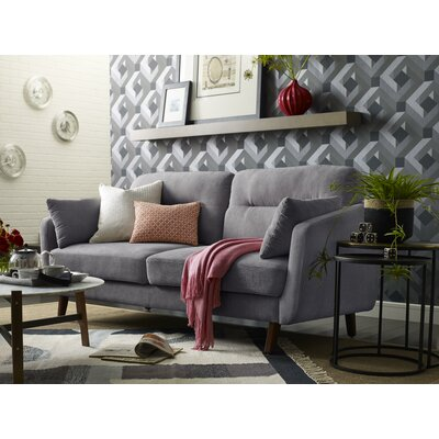 Chloe Mid-Century Modern Sofa