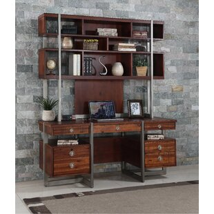 Compare prices Kyros Executive Desk With Hutch By Wrought Studio