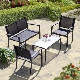 Brasilia 4 Piece Sofa Set