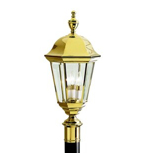 Kennith Outdoor 3-Light Lantern Head by Astoria Grand