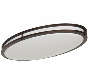 Red Barrel Studio Edmundson LED Oval Flush Mount