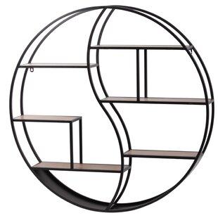 Brayden Studio Dupre Round Wall Shelf