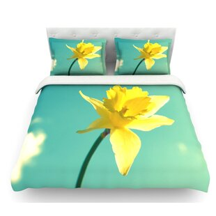 Daffodil by Robin Dickinson Featherweight Duvet Cover