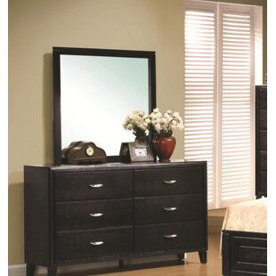 Winston Porter Duke 6 Drawer Double Dresser ..