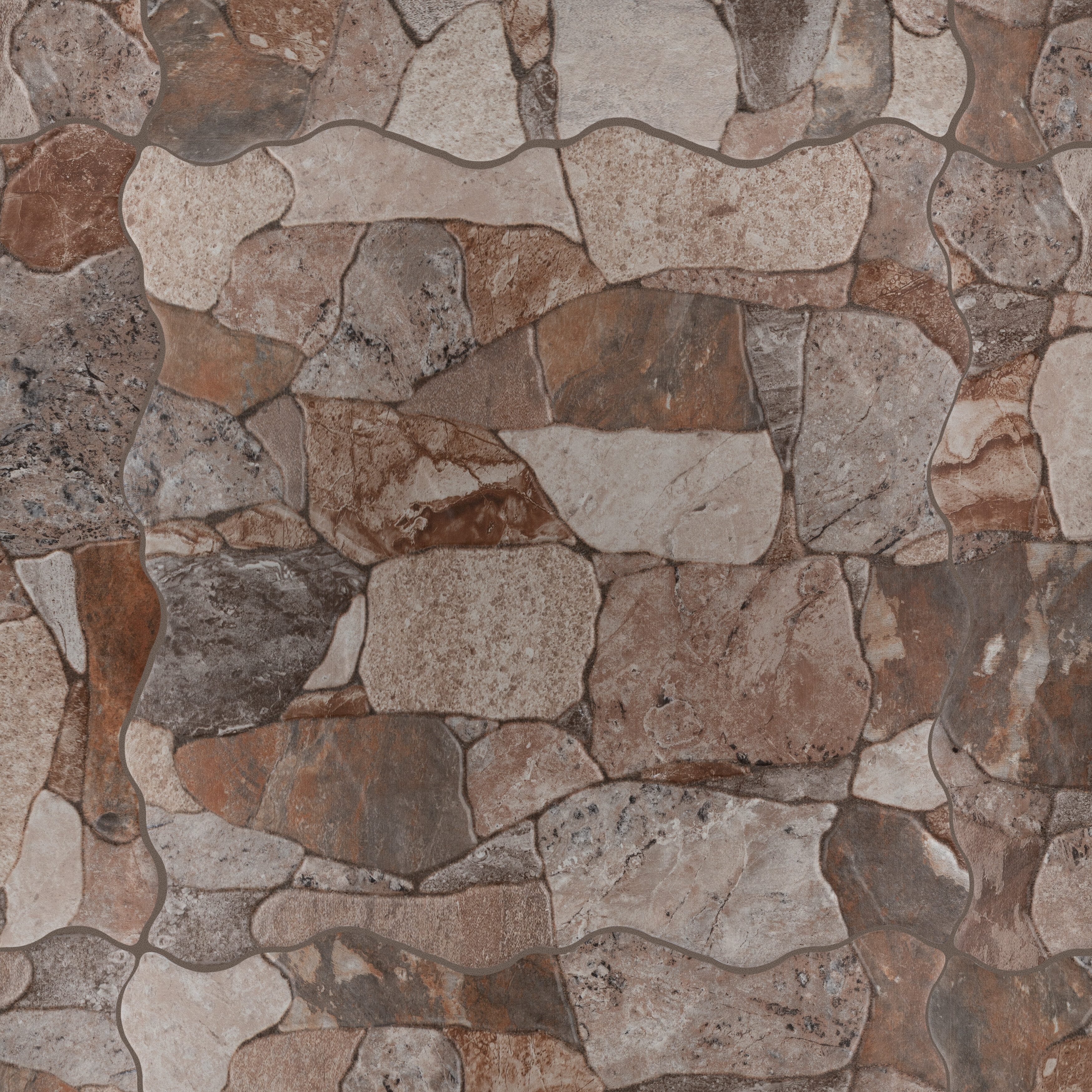 Ceramic Stone Look Wall Floor Tile