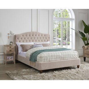 Aston Upholstered Bed Frame By Brambly Cottage