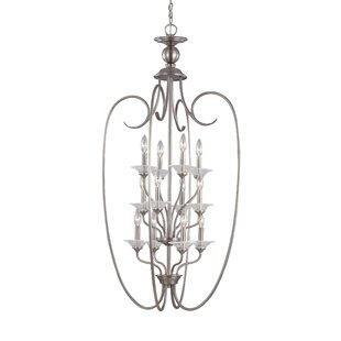 Darby Home Co Weatherly 12-Light Foyer Pendant