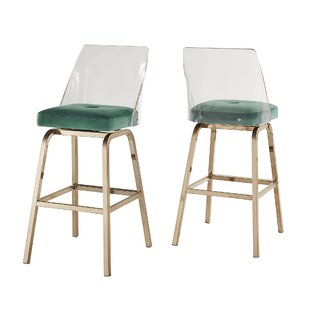 Fordyce 29 Swivel Bar Stool (Set of 2)