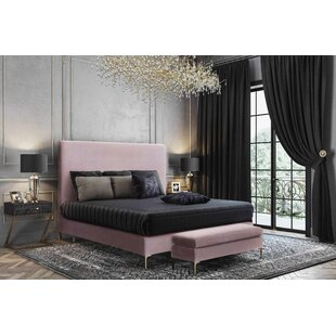 Laxman Upholstered Platform Bed by Everly Quinn