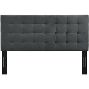 Veda King Upholstered Panel Headboard