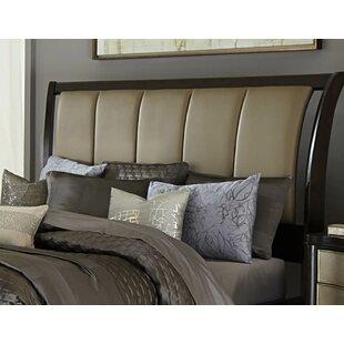 House of Hampton Barresi Upholstered Sleigh Headboard