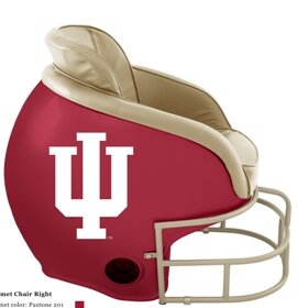 Butt'N Head NCAA Licensed Football Helmet Chair