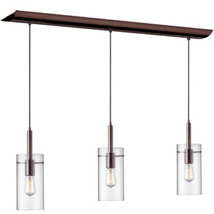 Radionic Hi Tech Nostalgia 3-Light Kitchen Island Pendant