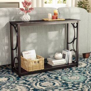Clinard Wood Console Table by Winston Porter