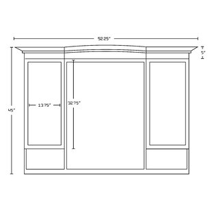 Price comparison Onondaga Traditional Birch Wood-Veneer Rectangular Wall Mirror ByRoyal Purple Bath Kitchen