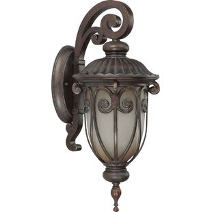 Compare prices Broadmeade Outdoor Wall Lantern By Fleur De Lis Living