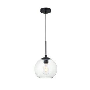Wrought Studio Eller 1-Light Globe Pendant