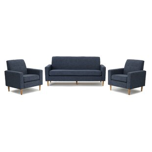 Top Reviews Arden 3 Piece Living Room Set by Turn on the Brights Reviews (2019) & Buyer's Guide