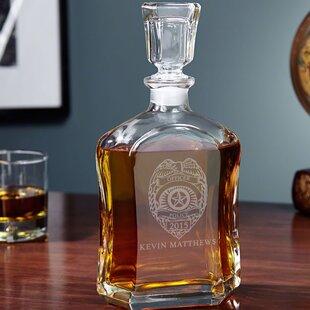 4ab7d60f395 Whiskey Decanter Monogram Beverage Servers You'll Love in 2019 | Wayfair