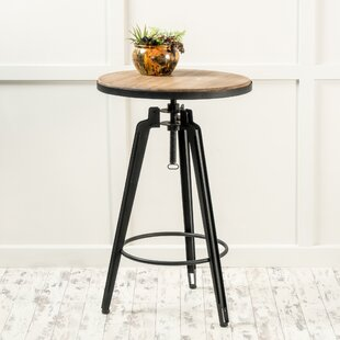 Grenshaw Adjustable Pub Table by Gracie Oaks