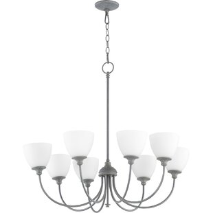 Willa Arlo Interiors Dian 8-Light Shaded Chandelier