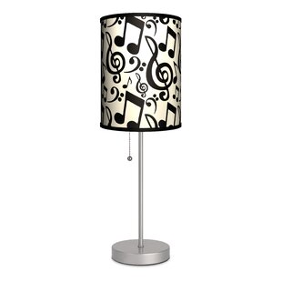 Reviews Music Notation 20 Table Lamp By Lamp-In-A-Box