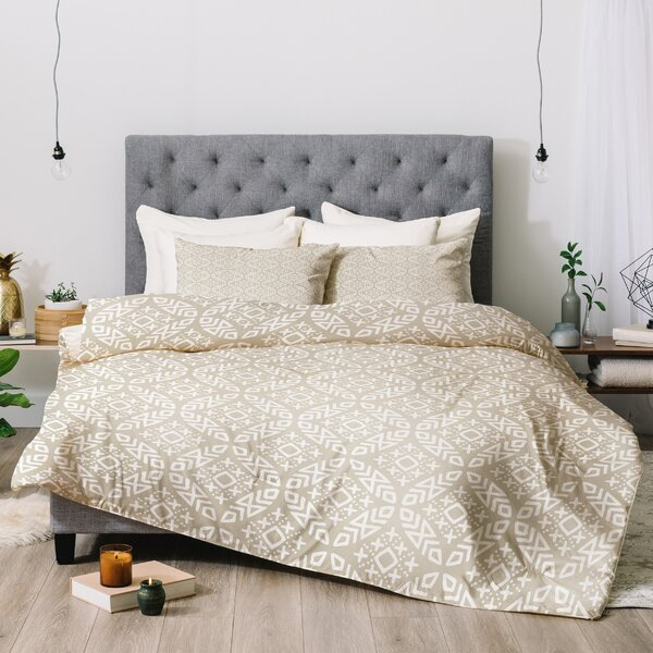 East Urban Home Little Arrow Modern Moroccan Comforter Set | Wayfair
