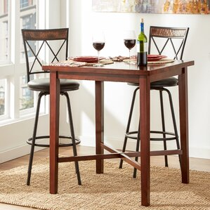 Timberlake Square Wood Pub Table