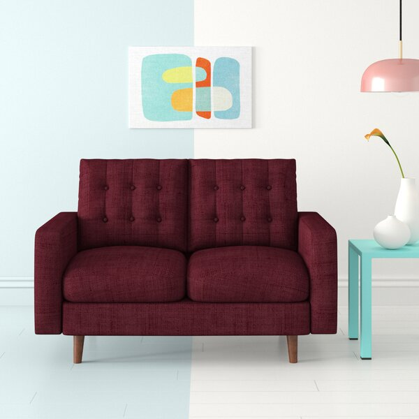 Pleasant 50 Inch Loveseat Wayfair Alphanode Cool Chair Designs And Ideas Alphanodeonline