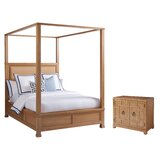 Newport Upholstered Canopy Configurable Bedroom Set by Barclay Butera