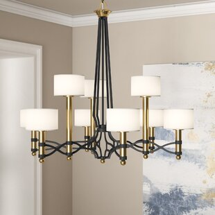 Mercer41 Harwell 9-Light Shaded Chandelier