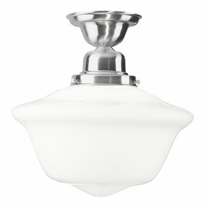 Karen 1-Light Semi Flush Mount