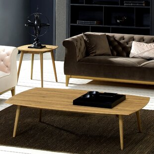 George Oliver Kellan 2 Piece Coffee Table Set