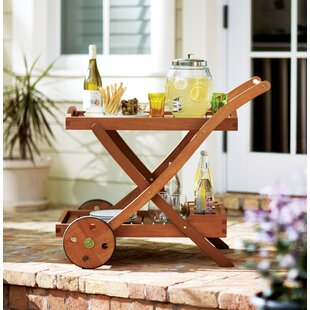 Beachcrest Home Oakport Serving Cart