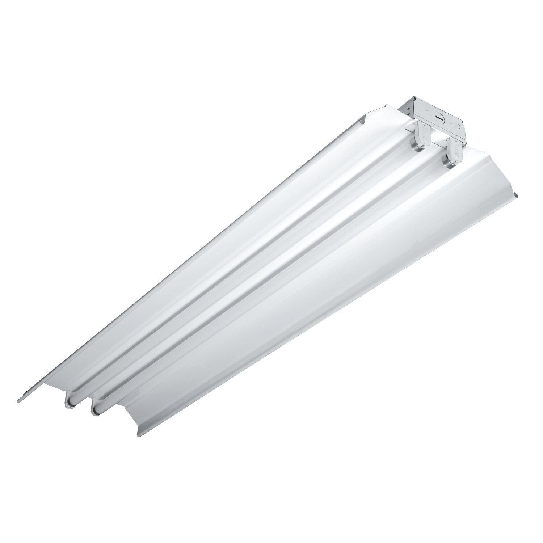 High Bay Fixture 54 Watt Cooper Lighting Fluorescent 6 Lamps
