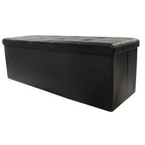 Wee's Beyond Collapsible Leather Ottoman