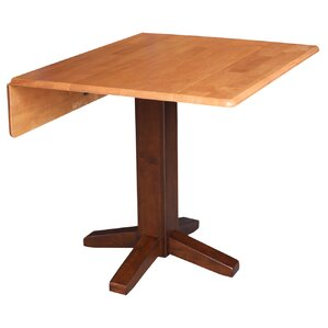 Wood Dining Tables With Leaves 2 leaf dining table | wayfair