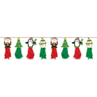 Christmas Paper Disposable Banner