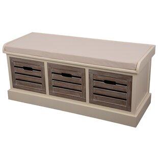 Sonderborg Wood Storage Bench