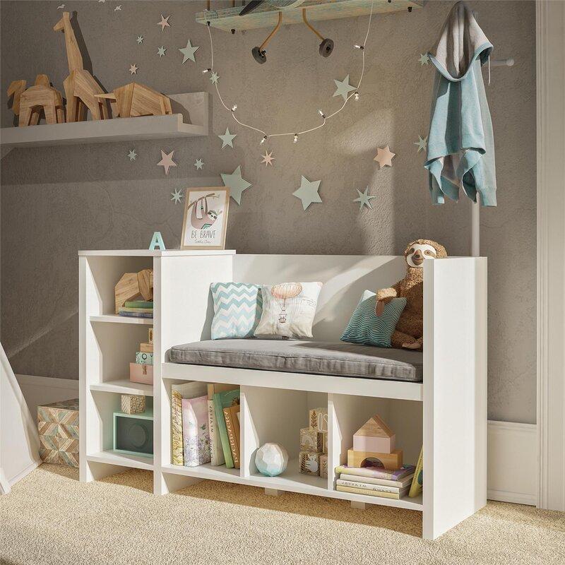 Harriet Bee Torney Kid Toy Storage Bench & Reviews | Wayfair