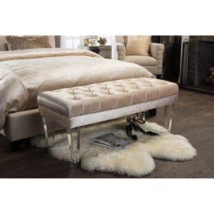 Wholesale Interiors Edna Upholstered Bench