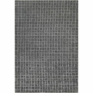 Landon Hand-Loomed Charcoal/White Area Rug By Trent Austin Design