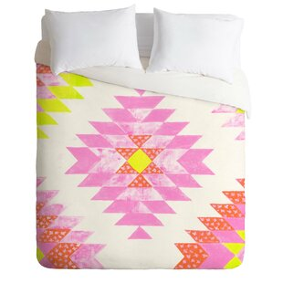 East Urban Home Chelsea and Coral Duvet Cover Set