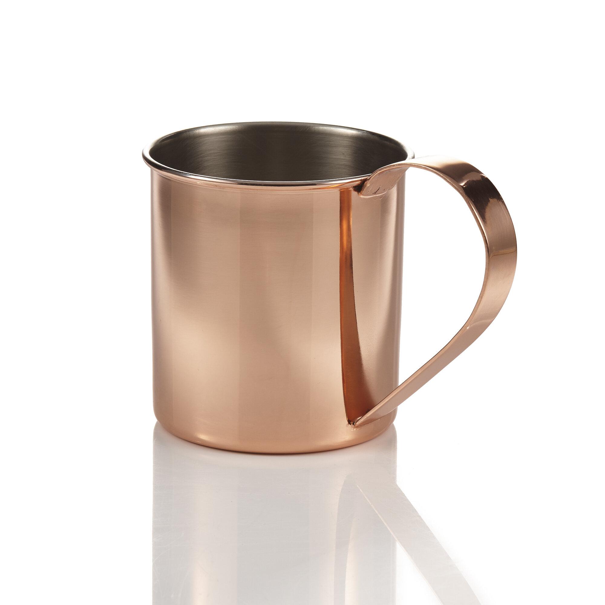 Brilliant 20 Oz Copper Moscow Mule Mug Wayfair
