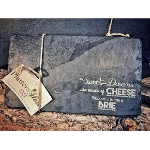 Zilla Engraved Cheese Board and Platter by Brambly Cottage