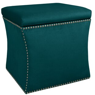 Brigette Storage Ottoman by Skyline Furniture