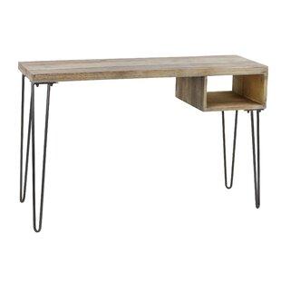 Reviews Mckinnon Console Table Desk ByUnion Rustic
