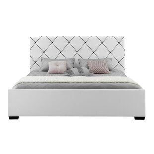 Knighton Upholstered Platform Bed by House of Hampton
